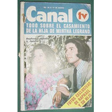 Revista Canal Tv 789 Soledad Silveyra Legrand Marilina Ross