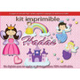 Candy Bar Kit Imprimible Hadas Haditas Cotillon Tarjetas
