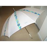 Sombrillas Estampada -155 De Diametro X 107 Cm Altura