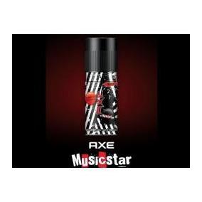 Lata Desodorante Vacia Axe Musicstar Edition Argentina
