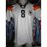 Camiseta Fútbol Selección Alemania Euro 1992 92 Hassler #8