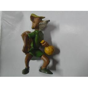Robin Hood Zorro Animalito Muñeco Miniatura Walt Disney