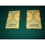 2 Mazos De Cartas Victoria - De 40 Y 50 Cartas - Sin Uso -