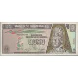 Guatemala 1/2 Quetzal 4 Ene 1989 P72a
