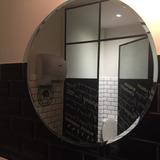 Espejo Redondo Biselado 50. Ideal Baño Recepción Living