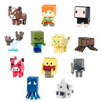 Mini Figure Miniatura Minecraft Série 1 2 3 Figura Bonecos