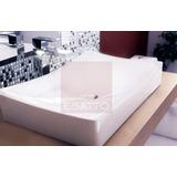 Esatto® Ovalín Lavabo Moderno Ceramica Blanca Oc-025