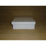 Kit 50 Caixas 10x10x5 Mdf Branca Lembrancinhas Aniversário