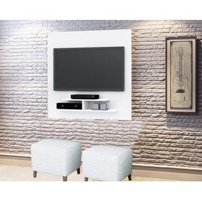 Painel Para Tv Até 40 5019 Cor Branco Brilho