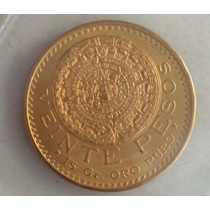 Centenario Oro 20 Pesos De Oro Puro Nuevo