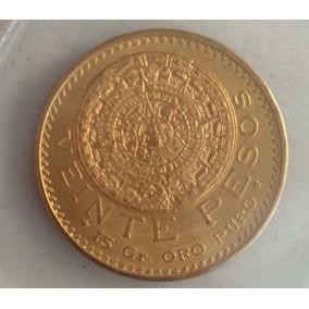 Moneda De Oro 20 Pesos De Oro Puro Nuevo