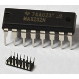 Integrado Semiconductor Max232 Técnico 1° Htec Electronica