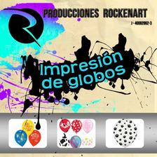Impresión De Globos Personalizados Y Con Helio - Rockenart