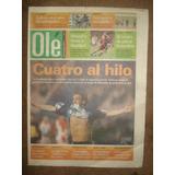 Diario Ole 17-03-02/racing 2 Huracan 1 /colon 2 Newell´s 2