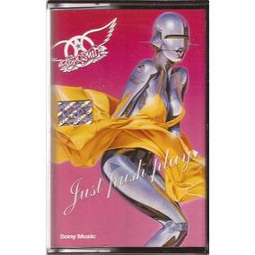 Aerosmith Just Push Play Cassette Nuevo