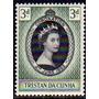 Tristan Da Cunha 1 Sello Mint Coronación Reina Elizabeth I I