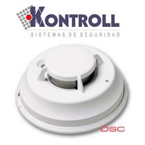 Detector De Humo Inalámbrico Marca Dsc, Mod. Ws4916-433* Mhz