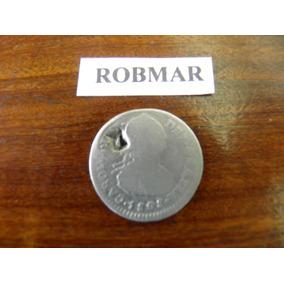 Potosi-f67-1 Real De Plata Año 1808-p.j.-epoca Españoles