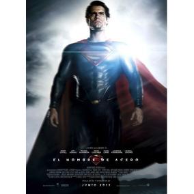 Heroes De Cine, Superman, Laminas En Bastidor