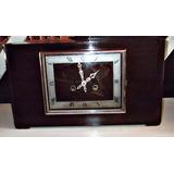 Reloj Con Sonería A Péndulo De Mesa Art Decó