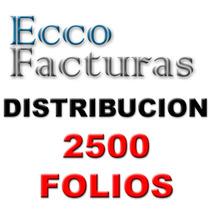 Paquete De Distribucion Folios Factura Electronica Y Nomina