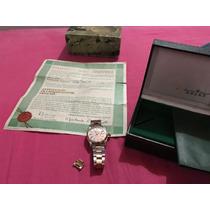 Rolex 1501 Combinado Con Documentación Caja Y Estuche