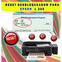 Reseteador Desbloqueador Epson L200