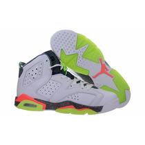 Nike Air Jordan 6 Retro Bg Mango Del 35 Al 40
