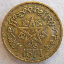 Marruecos 10 Francs 1952 * Protectorado Frances *