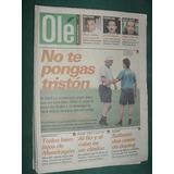 Diario Ole 27/11/98 Boca Independiente Lanus Talleres Salta