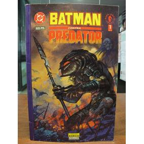 Comics Historietas Batman Vs Predator Blanco Y Negro Dc