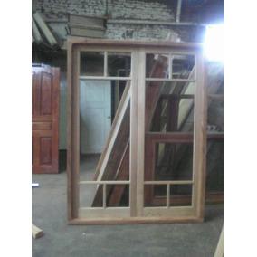 Puerta De Abrir De 200x200 Cedro M/mad C/vidrio Extra Porch