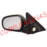 Espejo Retrovisor Honda Civic 02 Comando Electrico Izq Negro