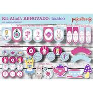 Kit Imprible  Alicia En El Pais De Las Maravillas