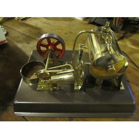 Caldera Motor A Vapor Horizontal Joya De Coleccion A Muller