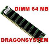 Memoria Dimm De 64 Mb Pc 100 Y Pc 133 Con Garantia
