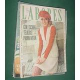 Revista Labores Sep/69 Moda Ropa Tejidos Primavera Vintage