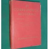 Libro El Corresponsal Moderno Academias Pitman Buenos Aires
