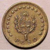 Moneda - 1 Peso - Uruguay - Año 1965