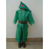 Disfraz De Peter Pan Para Niños De 3 A 5 Años