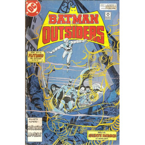 Revistas: Batman Y Los Outsiders N°3 Y 5 (perfil)