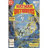Revistas: Batman Y Los Outsiders N°3 Y 5 (perfil)