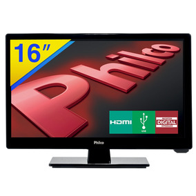 Tv Led 16 Philco Hd Com Conversor Digital - Ph16d10d