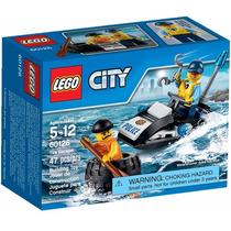 Lego City - Fuga De Carro 60126 - 47 Peças Jet Ski Polícia