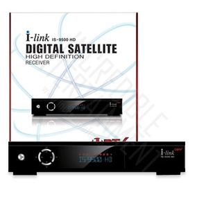 Receptor Tv Satelital I-link 9500 Hd C/ Turbo 8psk - Nuevo