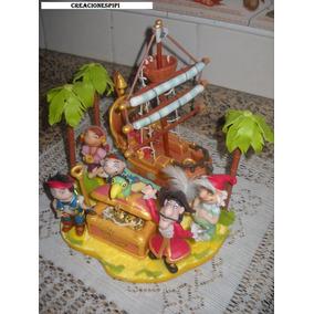 Adorno De Torta Jake Y Los Piratas De Nunca Jamas