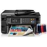 Impresora Multifuncional Epson Wf-3620 + Sistema De Recarga