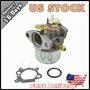 Carburador Para Briggs & Stratton 497586 499059 Parte Junta