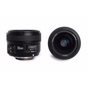 Lente Yongnuo Yn 35mm P/ Nikon F/2g (auto Foco)+ Filtro Uv