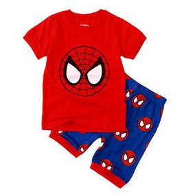 Fantasia Pijama Super Herois Homem Aranha,superman Ou Batman